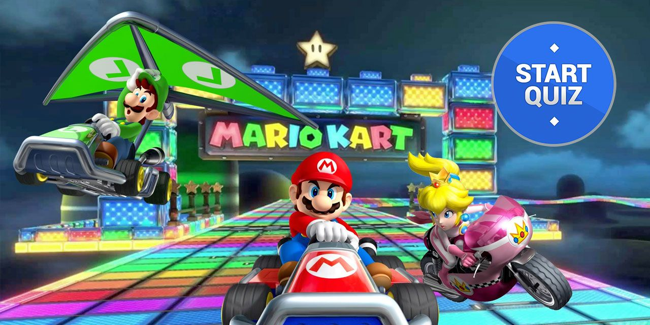 Mario Kart Quiz How Well Do You Know Mario Kart Thequiz