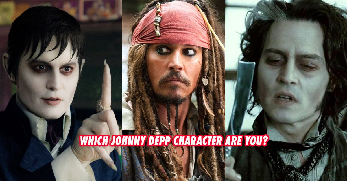this extremely easy test will tell you which johnny depp
