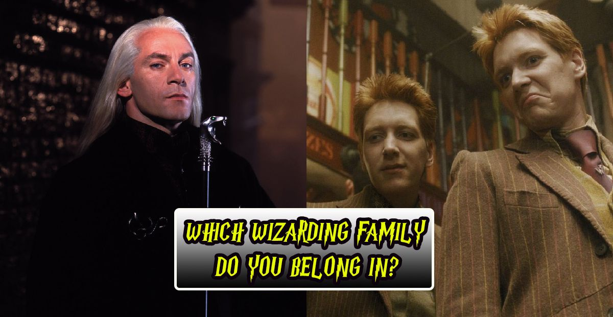 Harry Potter: Which Wizarding Family Do You Belong In? | TheQuiz