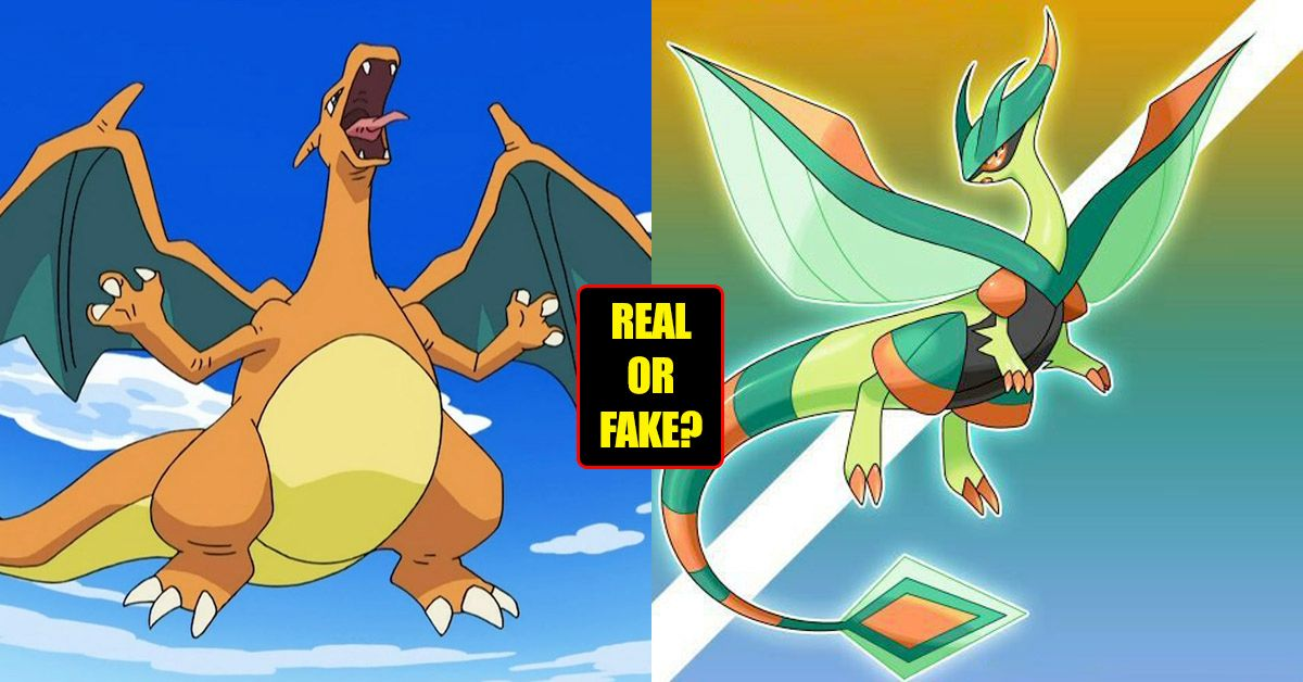 are these dragon type pokémon real or fake take the 60 second test