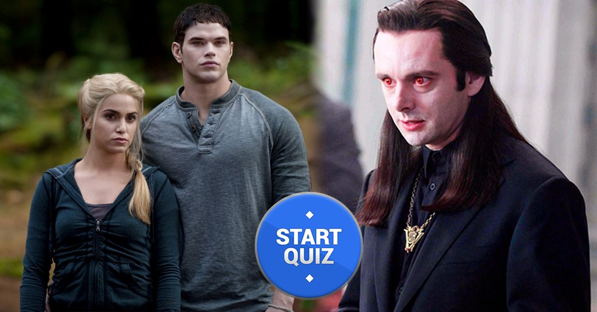 Only A True Twilight Fan Can Name All These Secondary Characters