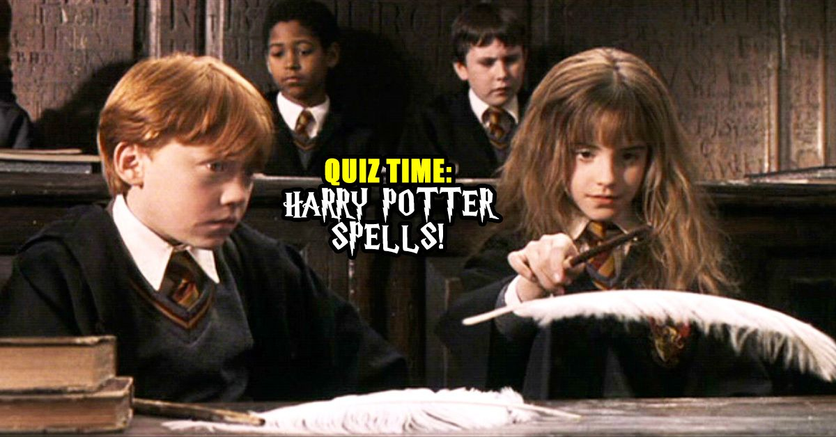 Only A Real Harry Potter Fan Knows Which Spell To Use In