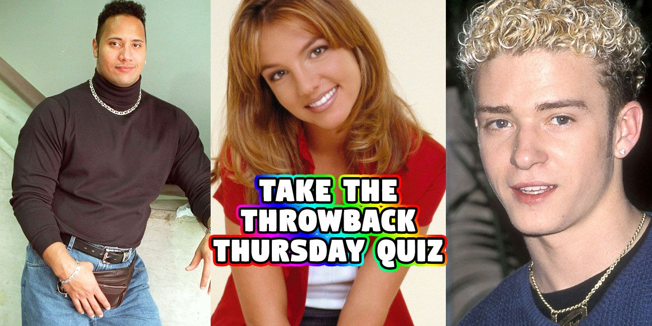 Take The Throwback Quiz And We'll Guess When You Were Born