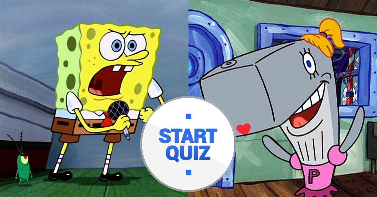 how well do you know spongebob quiz