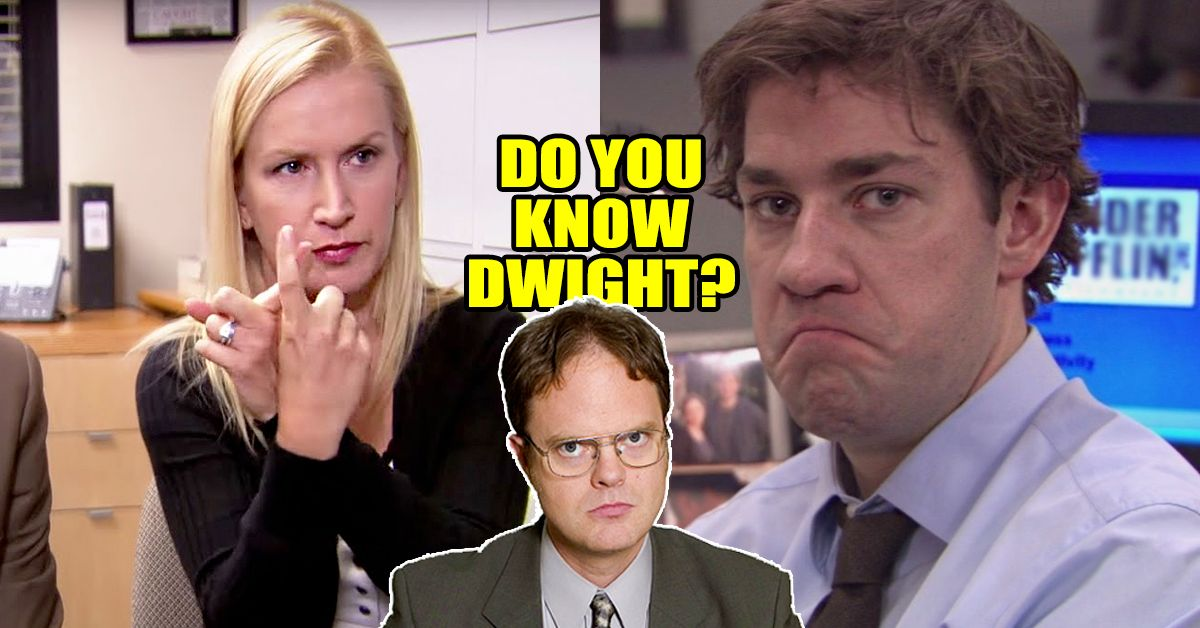 only angela could pass this dwight schrute quiz can you