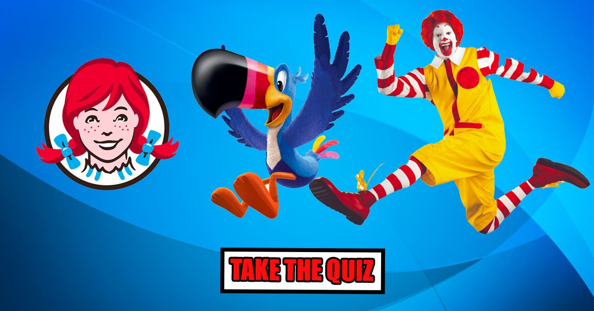 Who Can Match The Mascot To The Food Brand Show Your Skills